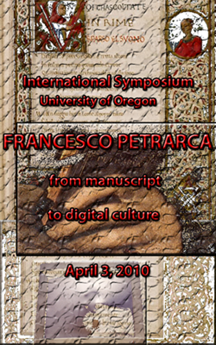 Figure 1: Petrarch conference advertisement